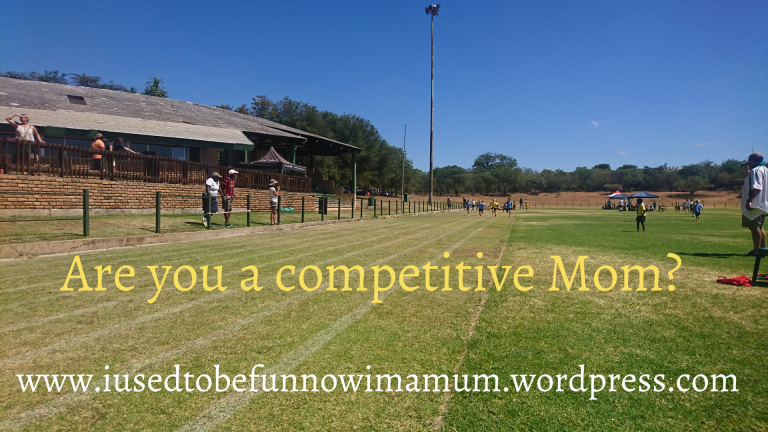 Are you a competitive Mom?
