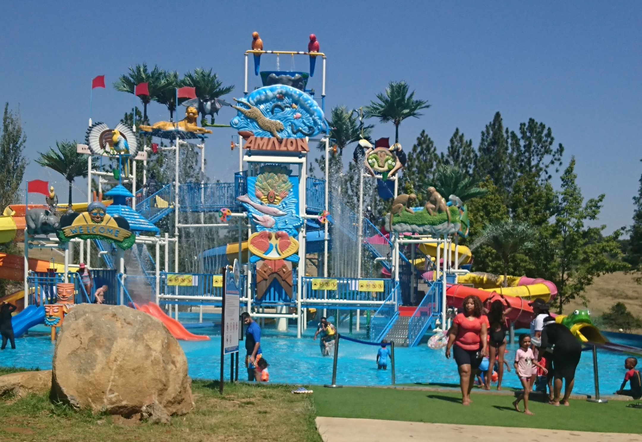 Happy Island Water theme Park South Africa (Muldersdrift) … What you need to know!